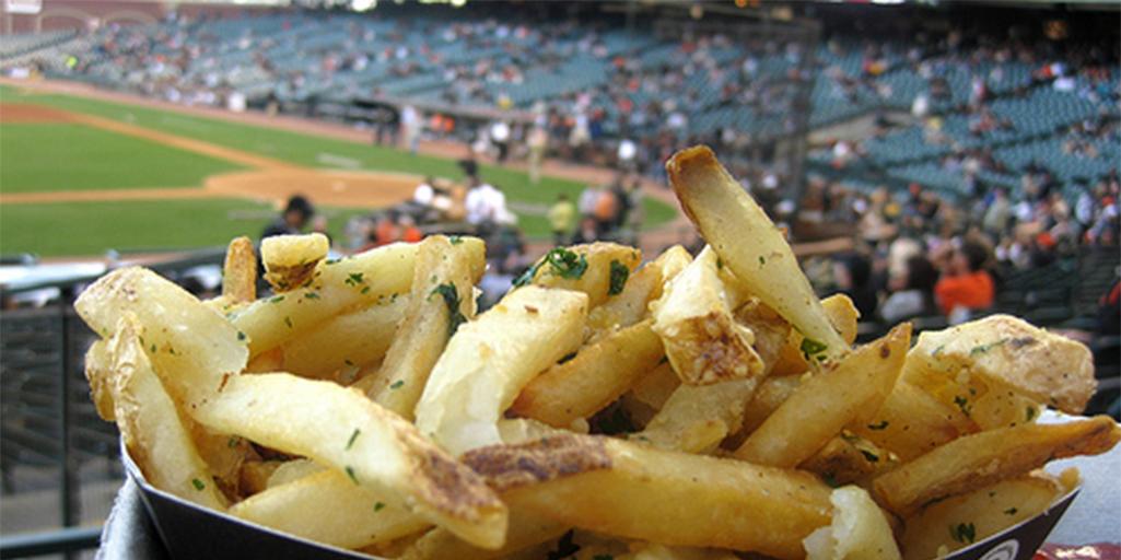 Baseball and Food at the AT&T Stadium