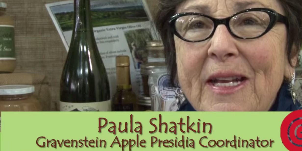 Paula Shatkin, longterm Gravenstein Apple Presidium Leader