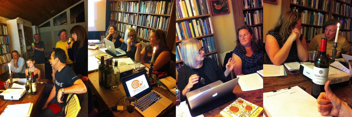 Slow Food Russian River Media Team. Photos by Darla Schoenrock.