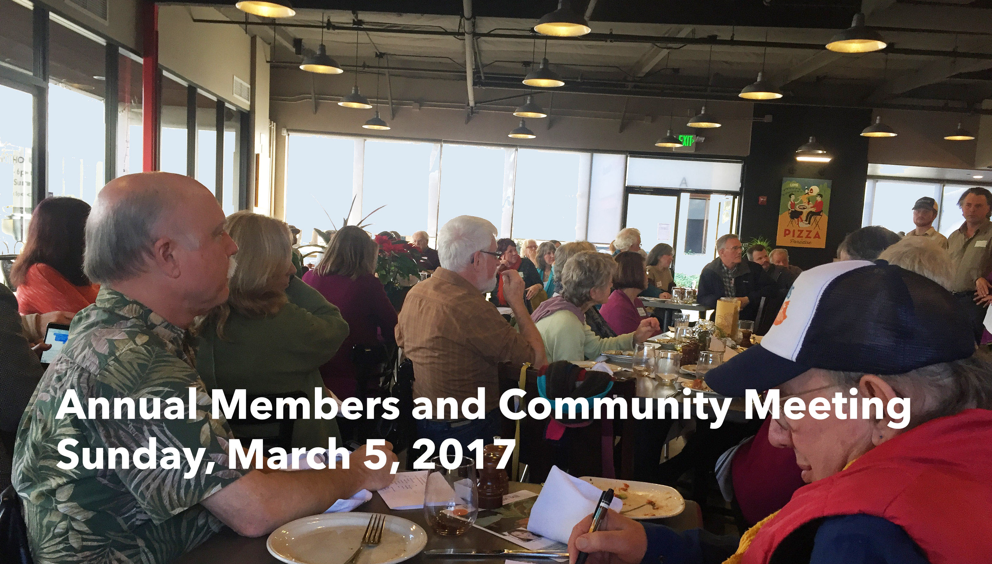 2017 Annual Members and Community Meeting