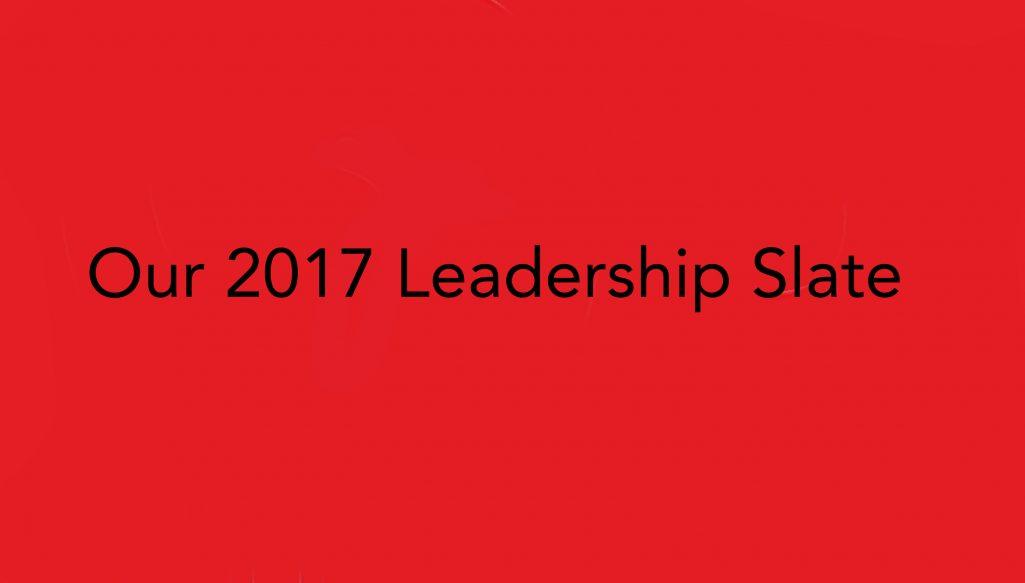 Slow Food Russian River 2017 Leadership Slate