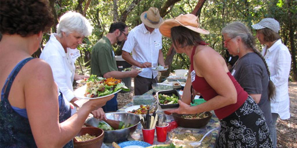 Slow Food Summer Mixer at Gradek Ranch