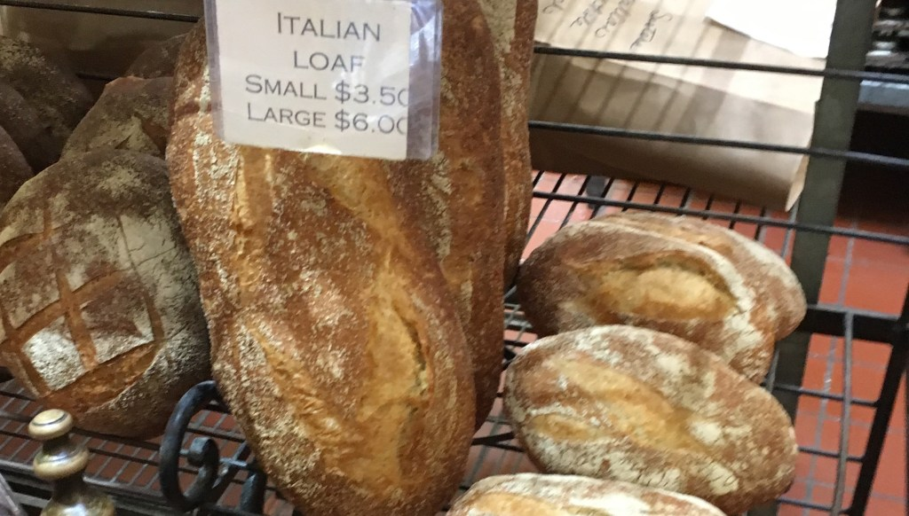 Healdsburg Downtown Bakery – Italian loaves