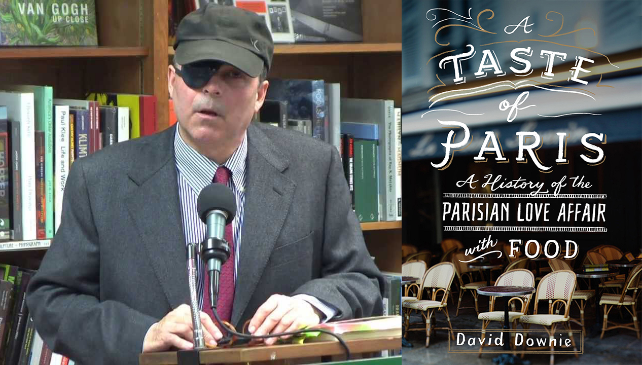 Slow Food Russian River Book Group with David Downie A Taste of Paris