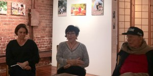 Panel at Gravenstein Reboot forum for Karen Preuss's Photo Exhbit at Canessa Gallery in San Francisco