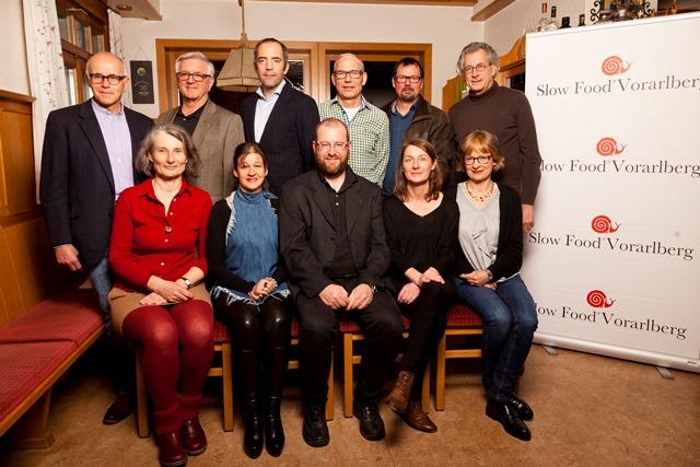 Vorstand Slow Food Vorarlberg