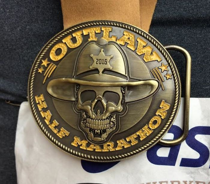 It's also a belt buckle! Yeah Texas!