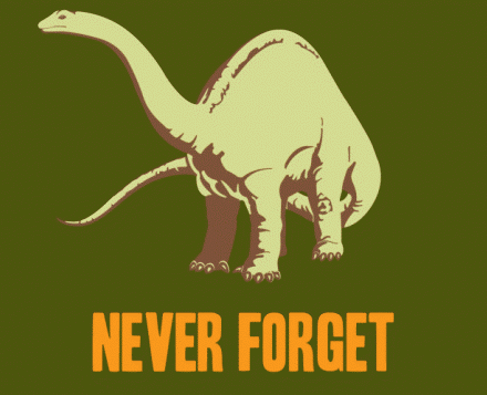 We mustn't forget...