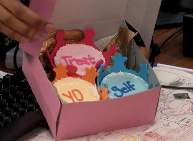 Treat Yo Self - to cupcakes!