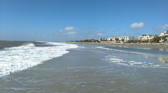 Isle of Palms at Low Tide