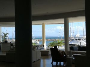 Lounge & bar, Banister Hotel, Samana, Dominican Republic