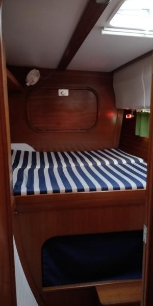 Nautitech 40.2 cabine avant bâbord