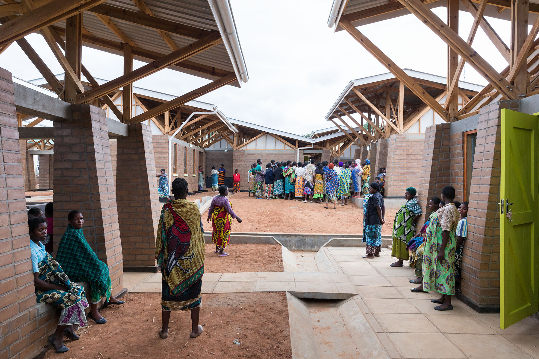 Empathy in Architecture: Maternity Waiting Village by MASS Design
