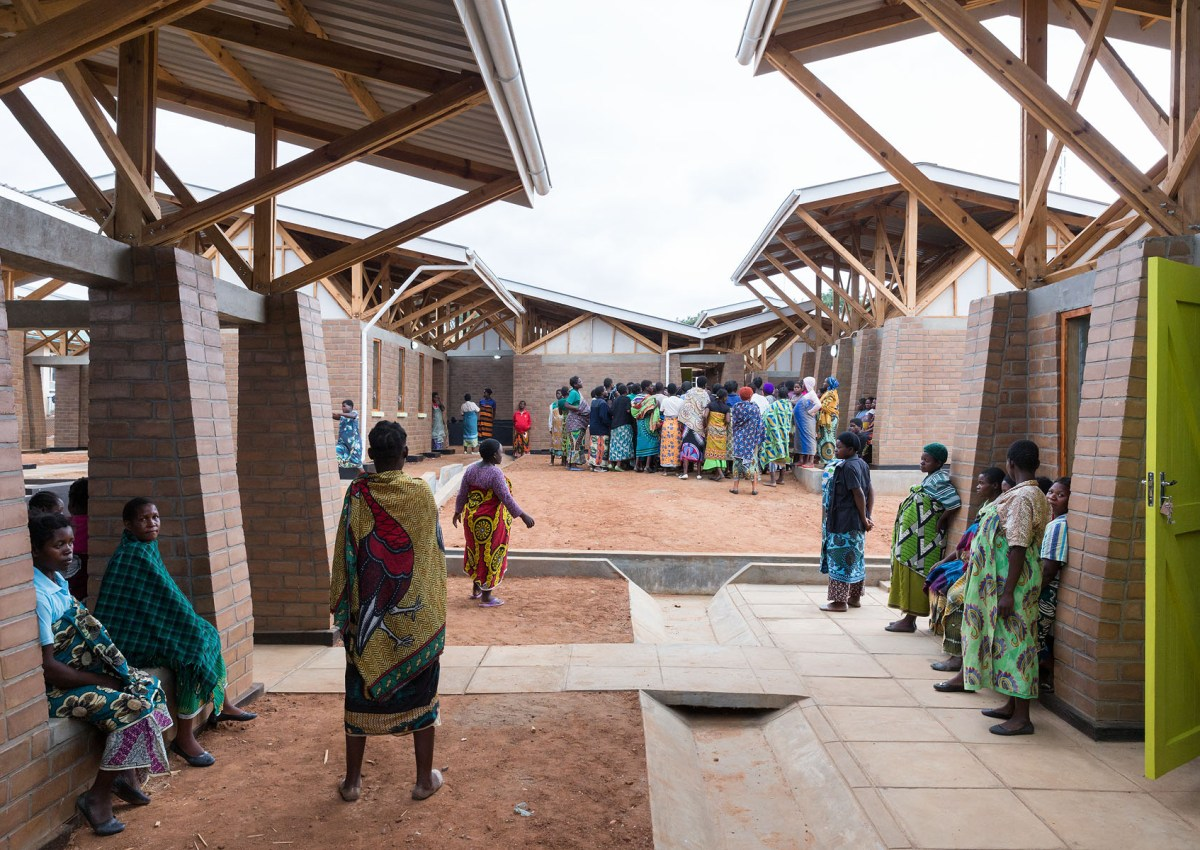 Empathy in Architecture: The Kasungu Maternity Waiting Village by MASS Design