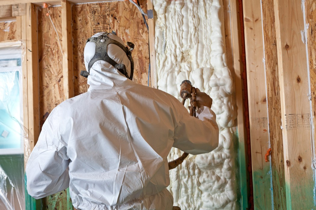 toxic materials spray foam insulation