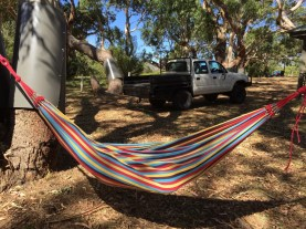 hammock, bimbi park, cape otway, camping, food photographer, melbourne food blogger