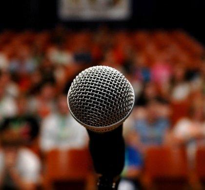 Ten public speaking tips for teachers.