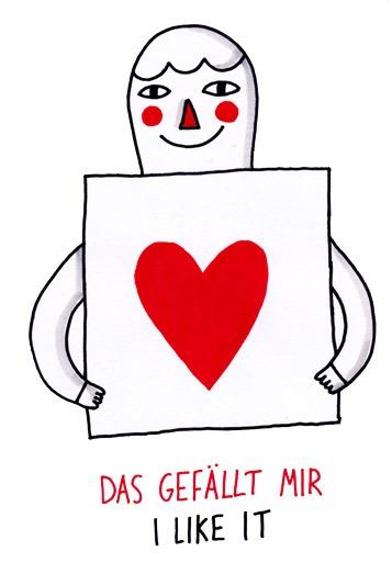 das gefällt mir Daily Deutsch Doodles