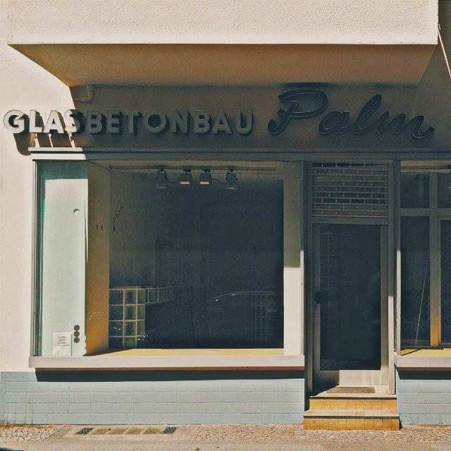 glasbetonbau palm letters from berlin