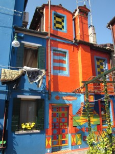 Colorful House in Burano
