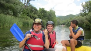 Rafting the Cetina