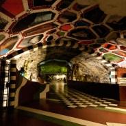 Stockholm's Subway Art