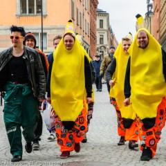 Random Sightings: The Banana Squad