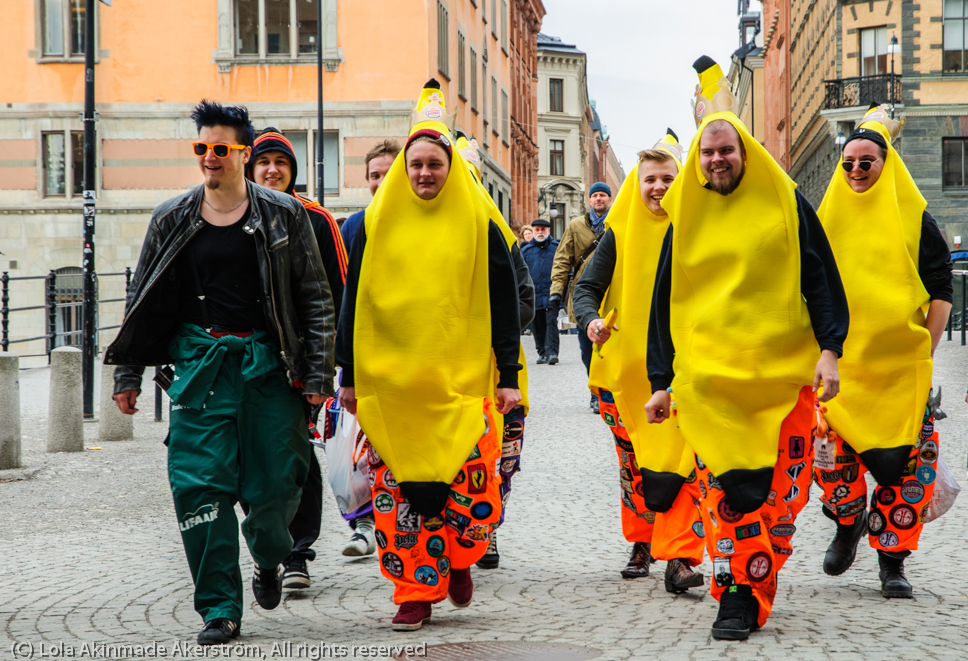 Random Sightings: The Banana Squad