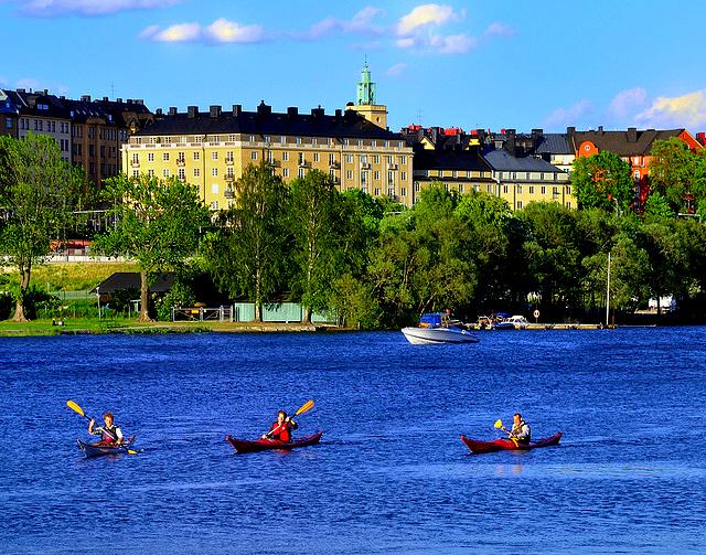 Stockholm by kayak