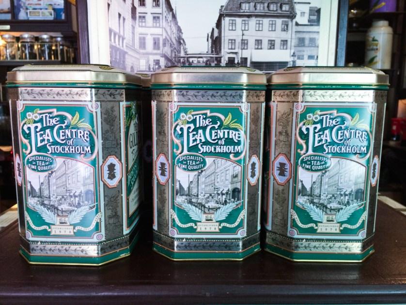 Tea shops in Stockholm