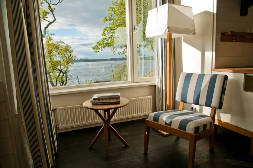 Scenes and interior decor from Hotel J Nacka Strand