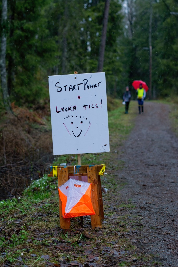 orienteering in stockholm start