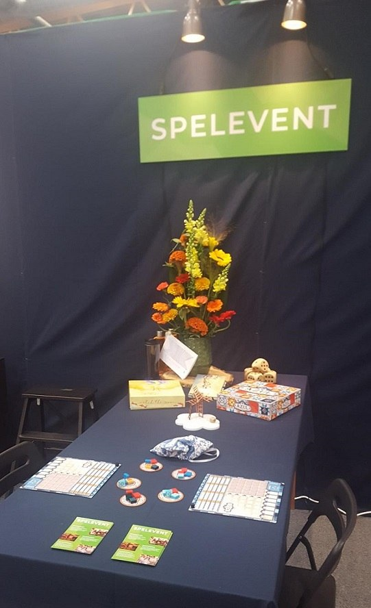 Stockholm Tabletop Game Expo | Game play ready for players