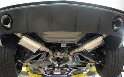 suraj conroy 2010 camaro axle back exhaust