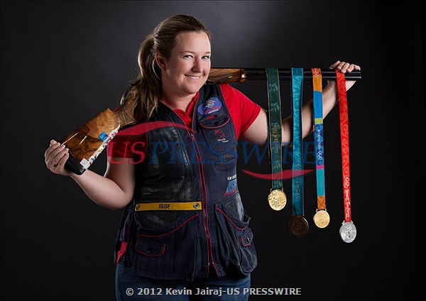 Shooter Kim Rhode1 Update: Additional Photos from the US Olympic Media Summit