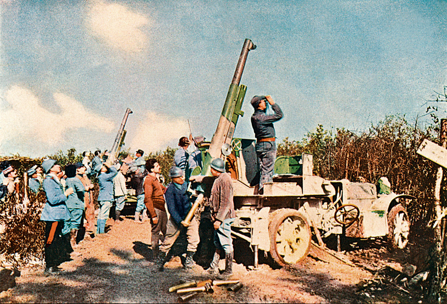 Rare Color Photographs Of The First World War