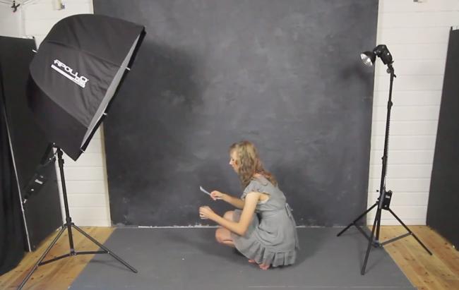home studio portraits with gavin hoey
