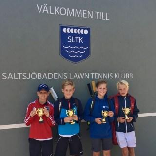 I PD11-13 vann Fred af Petersen/Viktor Göthman t.v. finalen över Hugo Appelberg/Felix Ljungström