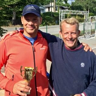 I HSC blev Peter Levén mästare. 2:a pris till Carl Schlyter