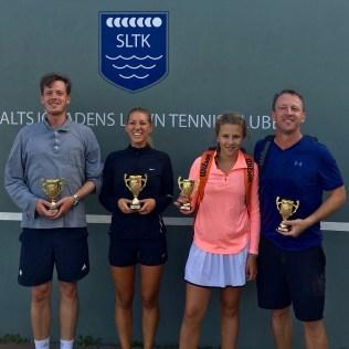 I MD blev Niklas Nilsson/Josefin Böhm mästare efter finalseger över Elsa Brenner/Anders Brenner