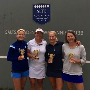 Åsa Hedin/Maria Bronett vann DD-finalen mot Annica Malmqvist/Jolande Svensson