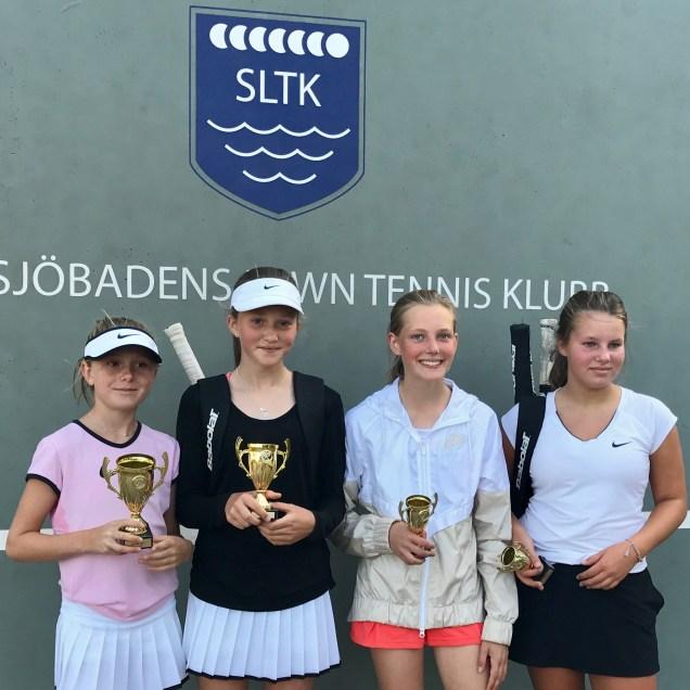 I FS14 vann Sarah Oldmark, 2:a Charlotte Wachtmeister, 3:a Fredrika Idman och 4:a Anna Nyman