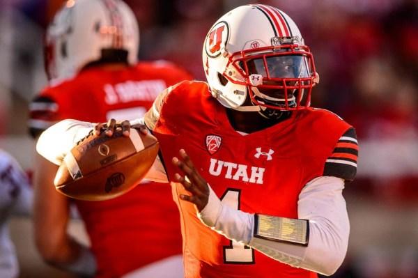 Utah coach Kyle Whittingham optimistic QB Tyler Huntley ...