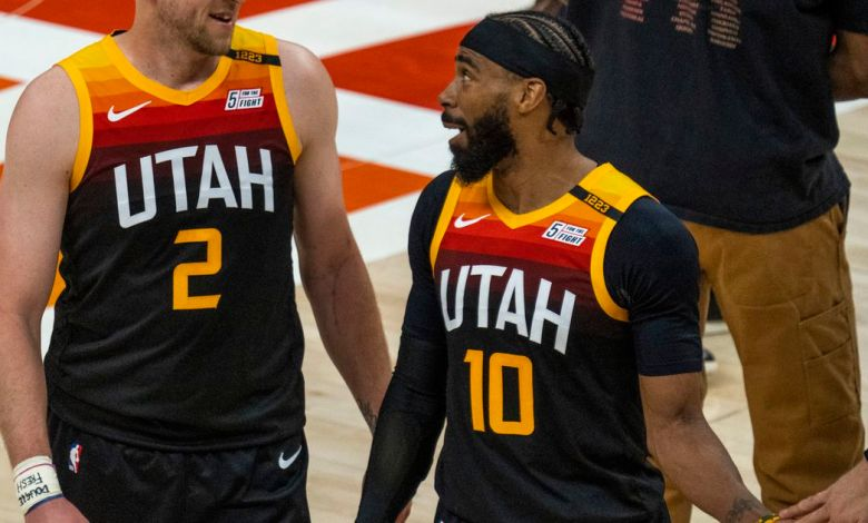 Mike Conley is out again; Joe Ingles talks shooting struggles and Paul George rivalry