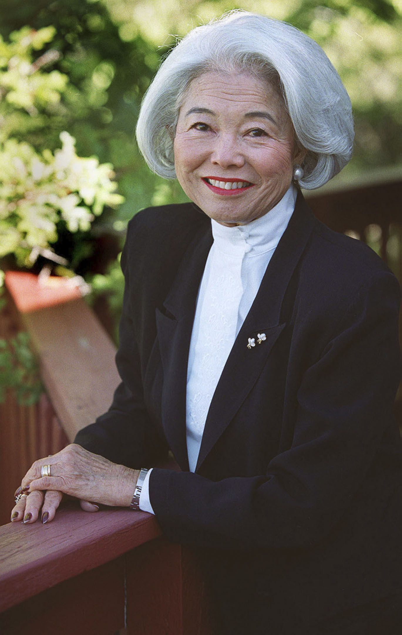 (Tribune file photo) Chieko Okazaki served as first counselor in general Relief Society presidency of The Church of Jesus Christ of Latter-day Saints from 1990 to 1997.