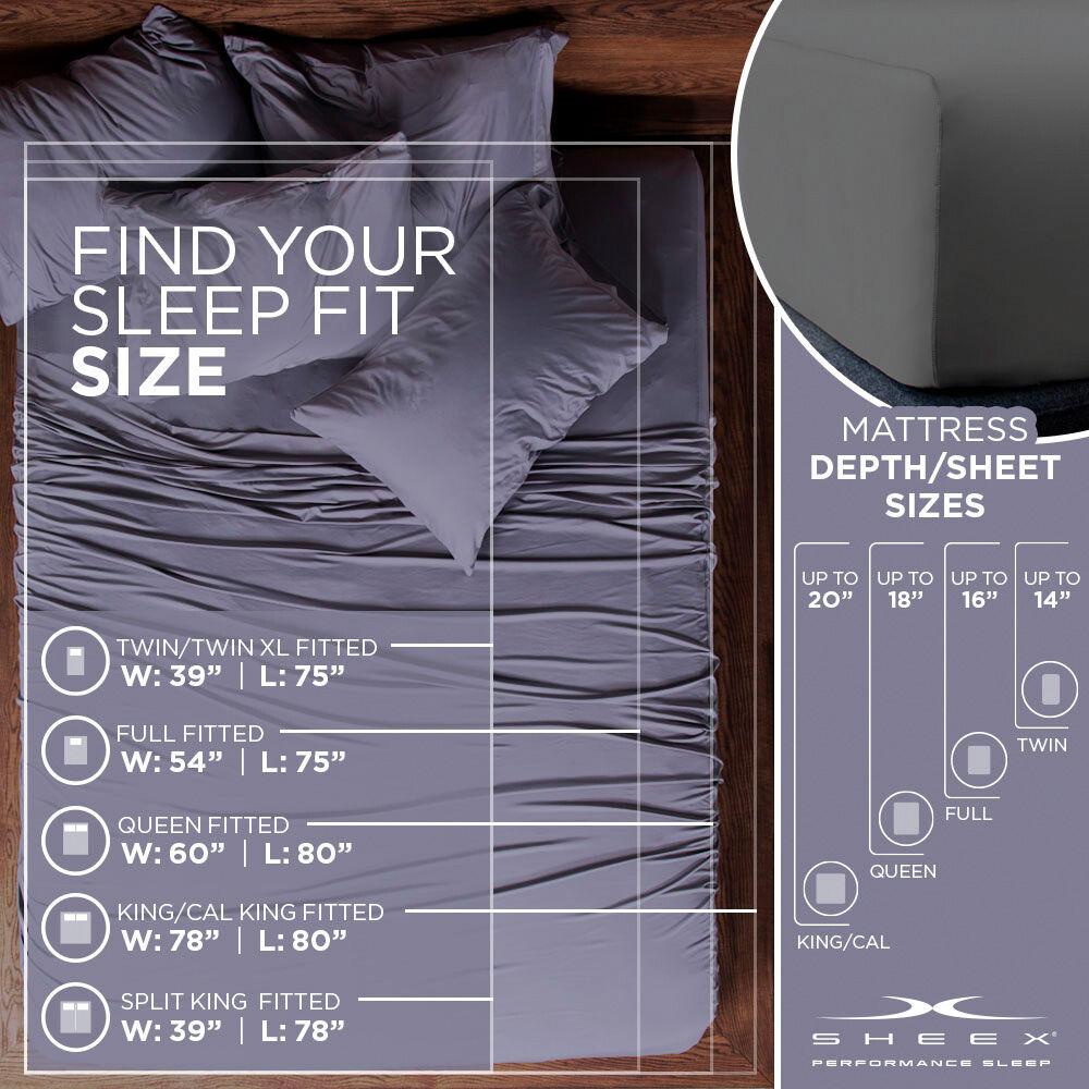 sheex aero fit pillowcase set
