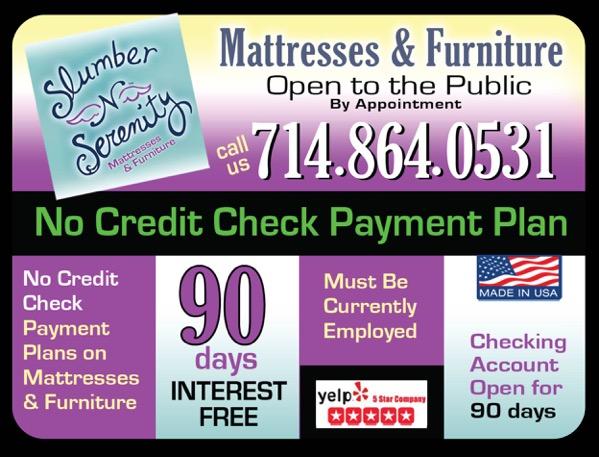 Orange County Mattress Promo Ad