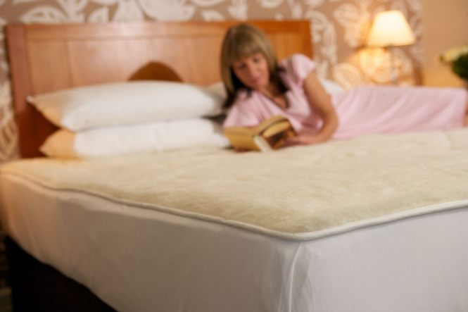 Wool Mattress Topper Reduced To Clear