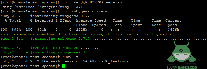 WpScan CentOS6 Install 2