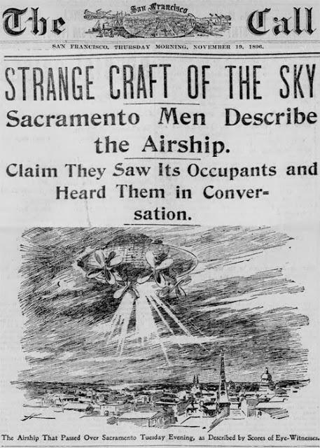Sacramento Ufo Airship